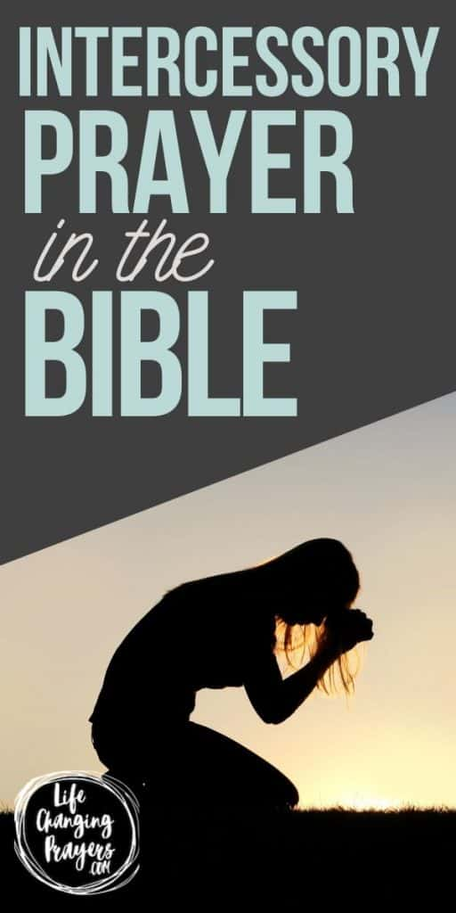 Intercessory prayer in the bible