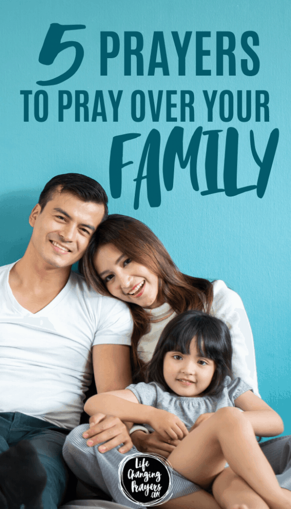 Prayer For Family - pin for pinterest